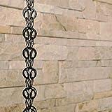 Rain Chains Direct Modern Loop Rain Chain, 8.5 Feet