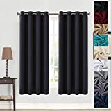 Balichun 99% Blackout 2 Panels Curtains Thermal Insulated Grommets Drapes for Bedroom 52