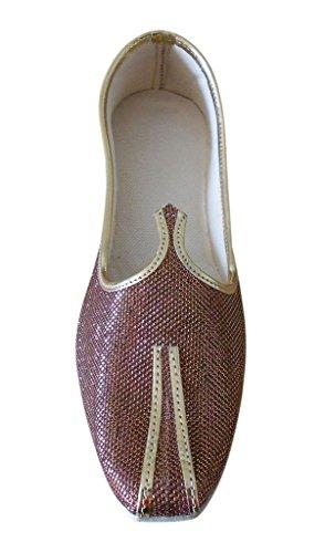 Kalra Creations - Zapatillas de estar por casa para hombre marrón