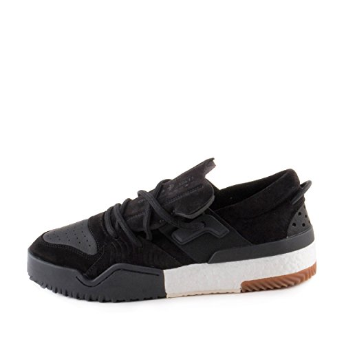 Adidas Heren Alexander Wang Aw Bball Lo Black Suede