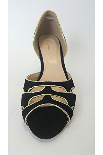 Vt Open Gold Scarpa Verdon Black amp; Vtl1516 Collection Gregge Toe Nero ZYYXqpd
