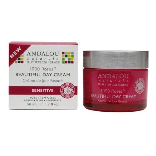 Andalou Naturals 1000 Roses Beautiful Day Cream 1.7 fl oz