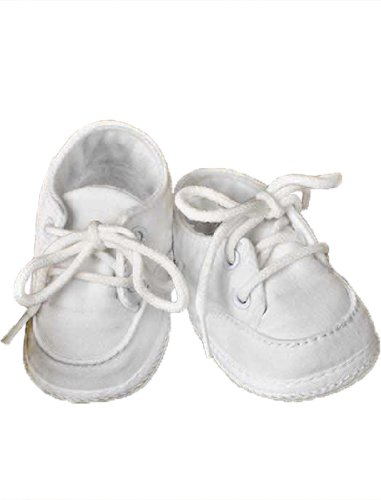 Poly-Cotton Oxford Christening Baptism Shoes