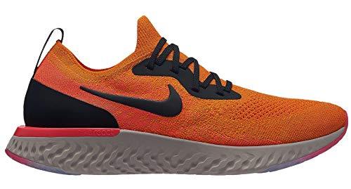 - Nike Men's Epic React Flyknit Running Shoe Copper Flash/Flash Crimson/Moon Particle/Black 11 M US