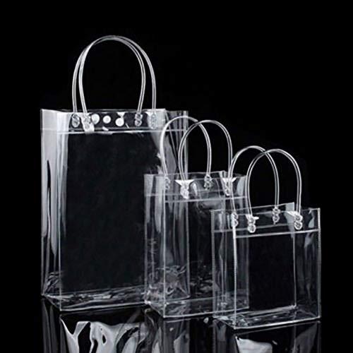 gLoaSublim Transparent Handbag, Clear Tote Bags Friendly Purse Shoulder Handbag PVC Great ValuePlastic Pouch Specification Two