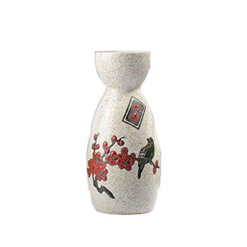 (FANCY PUMPKIN Japanese Style Traditional Sake Bottle Sake Pitcher Greative Gift, 04)