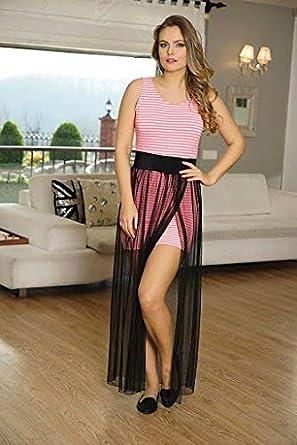 794cb35c40670 Anıl Bayan Koton Elbise AN5268: Amazon.com.tr