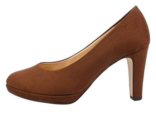Tacco Donna Fashion Marrone Scarpe Gabor con BqnFxOOt4
