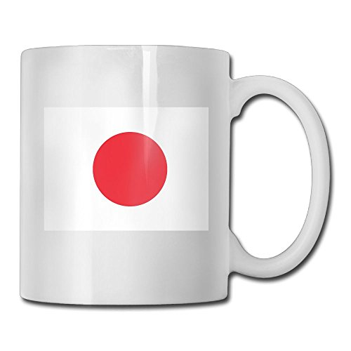 Fengyaojianzhu Flag Of Japan Mugs Funny Ceramic Coffee Tea Cups Double-side Printing - Netherlands Usps To Shipping