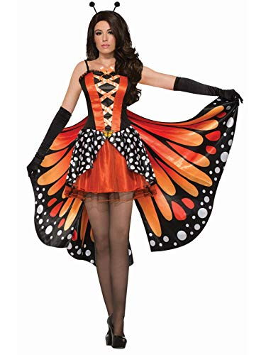 Monarch Butterfly Costume Adult - Forum Novelties Women's Standard Miss Monarch