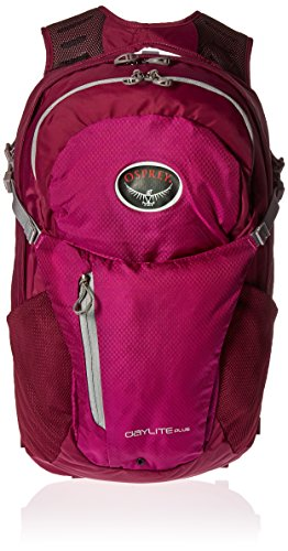 Osprey Packs Daylite Plus Backpack, Eggplant Purple 20l Backpack