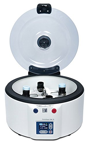 CM-7S Benchtop Swing-Out Centrifuge, Rotor Rotation Speed RPM 100 - 3,500, Timer min 1 - 99, Rotor 6M.01 - 4 x 50ml Test Tubes for CM-7S Centrifuge, Working Temperature Range ˚ C from +10 up to +40