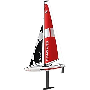 POCO DIVO voilier 2,4 GHz boussole RG65 classe concurrence voilier RC Wind puissance Voile Yacht