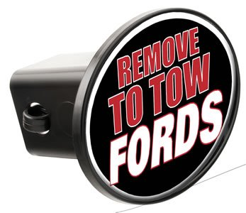 Knockout 213H 'Remove to Tow Fords' Hitch Cover
