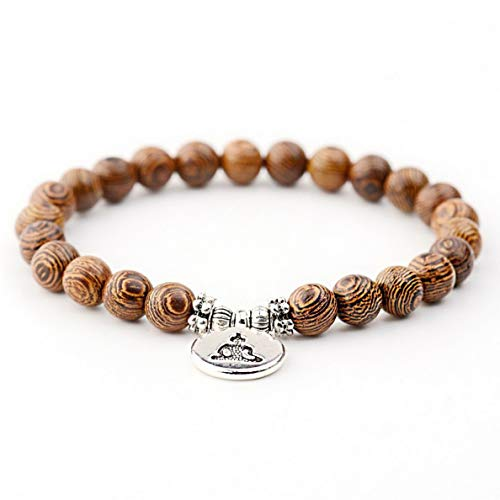 Mikash Charm Men Women Buddha Lotus Pendant Wooden Beads Bracelets Fashion Jewelry Gift | Model BRCLT - 7276 | - Game Football Pant Solid
