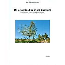 Un chemin d'or et de Lumière, Compostelle, un jour, un premier pas.. (French Edition)
