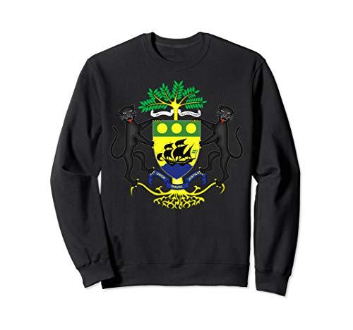 Coat Gabon - Coat of arms of Gabon Pullover Sweater Sweatshirt