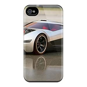 Durable Case For The Iphone 4/4s- Eco-friendly Retail Packaging(mitsubishi Double Shotz Concept)