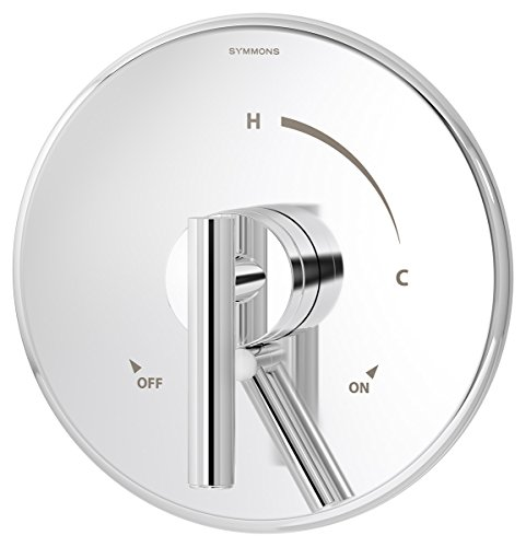 (Symmons S-3500-CYL-B-TRM Dia Shower Valve Trim in Polished Chrome (Valve Not Included) )