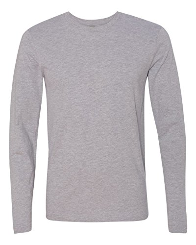 Long Sleeve Fitted Crew Tee - 5