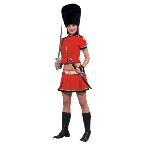 Dress Up America Adult Sexy Royal Guard, Multi-Colored, (Sexy Royal Guard)