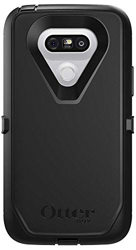 OtterBox Defender Series Protective Case for LG G5 - Non-Retail Packaging - Black (Best Case For The Lg G5)