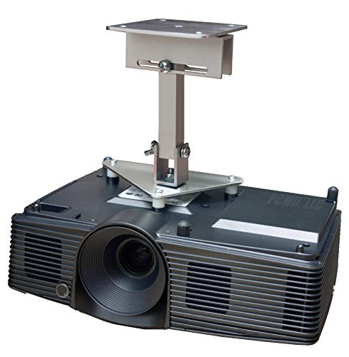 PCMD, LLC. Projector Ceiling Mount Compatible with NEC VT46 VT460 VT465 VT560 VT660 VT660K with Lateral Shift Coupling (8-Inch Extension)