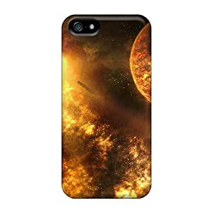 WAH10852cIZq Snap On Cases Covers Skin For Iphone 5/5s(fire Space)
