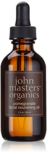 John Masters Organics Facial Nourishing Oil, Pomegranate, 2 Ounce