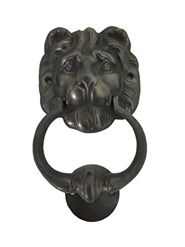 Boutique Collection Lion Head Brass Door Knocker (Big)