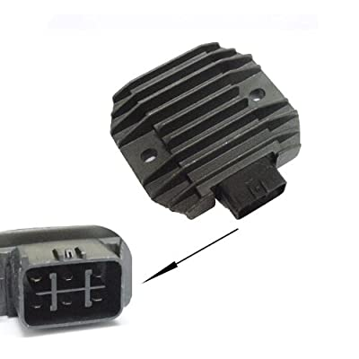 Voltage Regulator Rectifier for Yamaha GRIZZLY 660 YFM660 2002-2008 02 03 04 05 06 07 08: Automotive