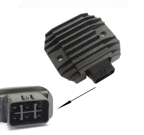 Voltage Regulator Rectifier for Yamaha GRIZZLY 660 YFM660 2002-2008 02 03 04 05 06 07 08 (2008 Yamaha Grizzly)
