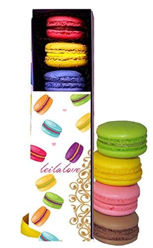 French Macarons - 6 Macaron 6 Flavor samplers