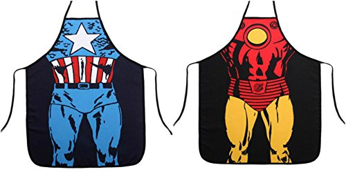 Captain America and Ironman Aprons