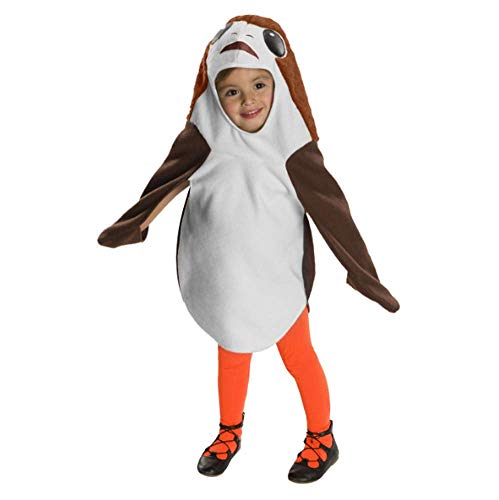 Target Toddler Star Wars Episode VIII PORG Halloween Costume, Toddler (3T - 4T) ()