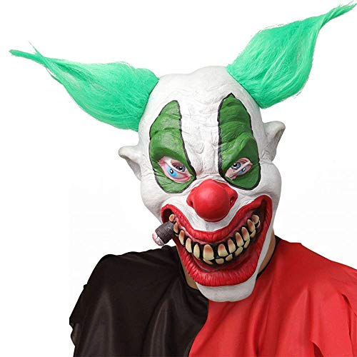(XIAO MO GU Halloween Clown Mask Foam Latex Mask, Deluxe Fonzo The)