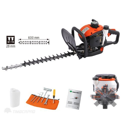 TIMBERPRO 26cc Petrol Powered Hedge Trimmer with 24'' Blades by TIMBERPRO