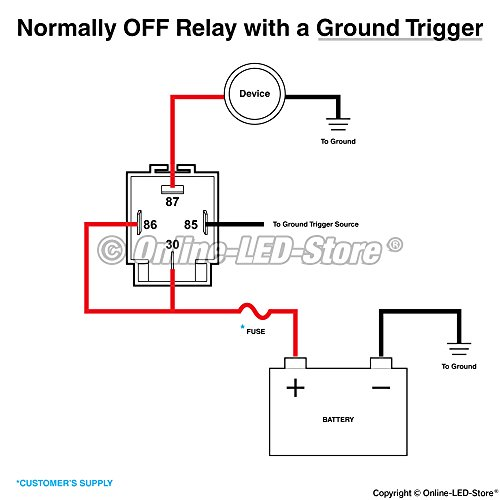 6 pack ols 30a fuse relay switch harness set