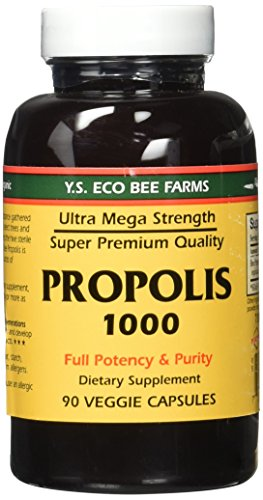 (YS Eco Bee Farms Propolis 1000 - 90 Caps - Pack of 2 )