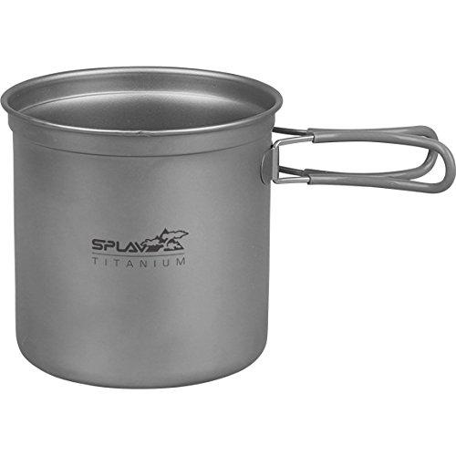 Titanium Cookware Set 2 Pots 1 Fry Pan | 2 Persons Light Outdoor Cooking Camp