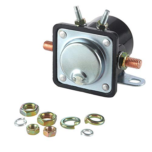 SS581T/ ALL76203 / Ford 12 Volt SW3 Hot Rod Starter Solenoid Relay Used On Johnson/Trim Motor Applications Evinrude Outboard Motor for Insulated Ground 3250028 3250032 5752791 8982775001 898