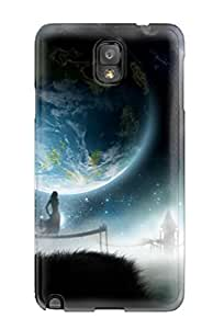 Excellent Galaxy Note 3 Case PC Cover Back Skin Protector Space Photos