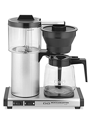 Marvelous Technivorm Moccamaster 39730 CD Grand Brushed Silver Design