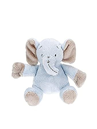 Animales de peluche juguetes azul elefante para bebé recién nacido niño