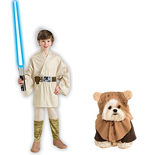 Rubie's Star Wars Luke Skywalker Child Medium Ewok