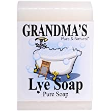 Grandma's Lye Bar Soap (6 Pack)