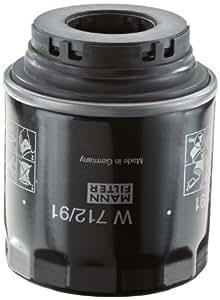Mann-Filter W 712/91 Filtro de Aceite - descontinuado por el fabricante