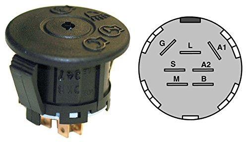 Craftsman Mower Ignition Switch 175566, 193350, 925-1741, 532175566