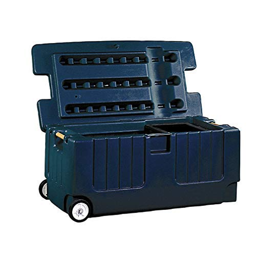 Jolly Pets Tack Trunk with Wheel Assemble, Navy