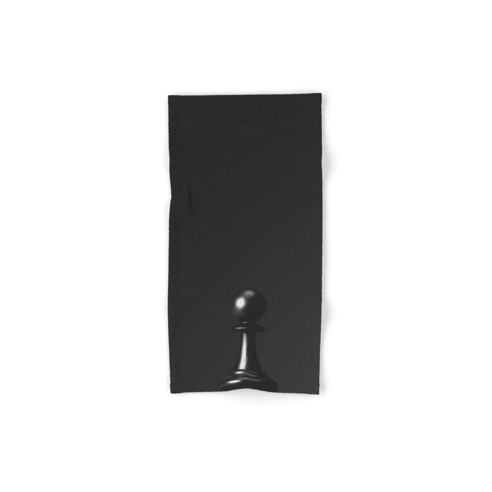 Society6 GAME OF THE THRONE / THE BLACK PAWN Set of 4 (2 hand towels, 2 bath towels)